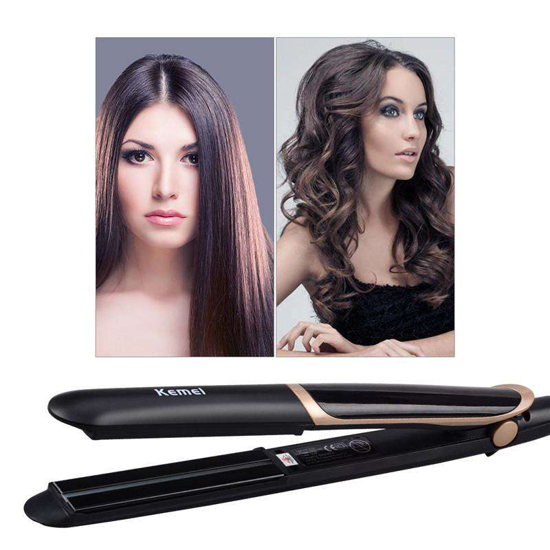 2 in1 Professional Hair Straightener and Curler