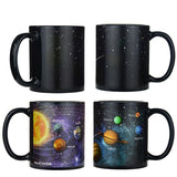 Magic Hot Changing Solar System Mug