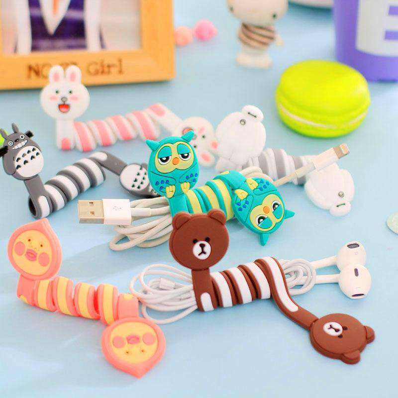 Cartoon Cable Winder