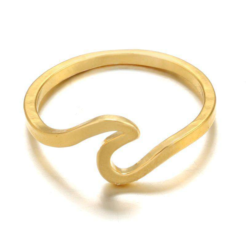 Hawaiian Wave Rings For Women by Instant Champs