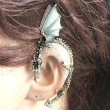 Punk Rock Gothic Nightclub Popular Dragon Ear Cuff Non-pierced Earring by instant champs