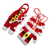 Santa Claus Cutlery Costume Set (6Pcs)