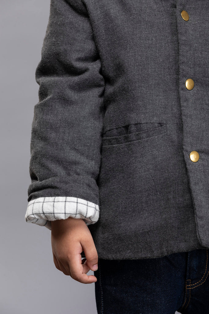 Andre Jacket B - Charcoal