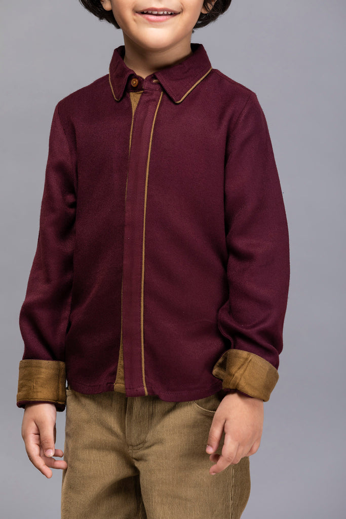 Travis Shirt - Rosewood