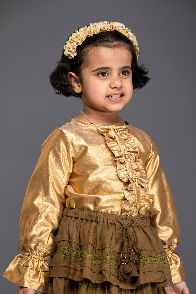 Alessia Top - Gold