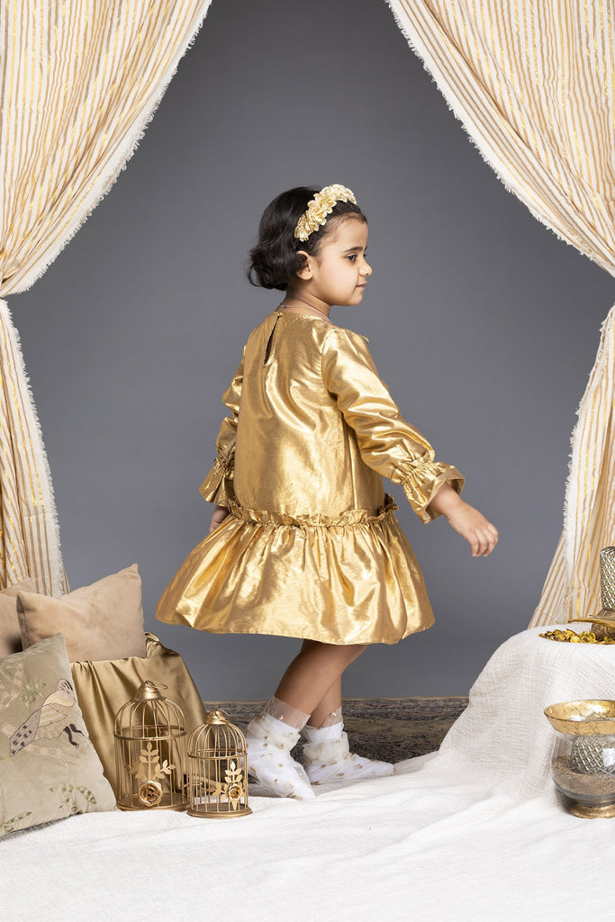 Abigail Dress - Gold