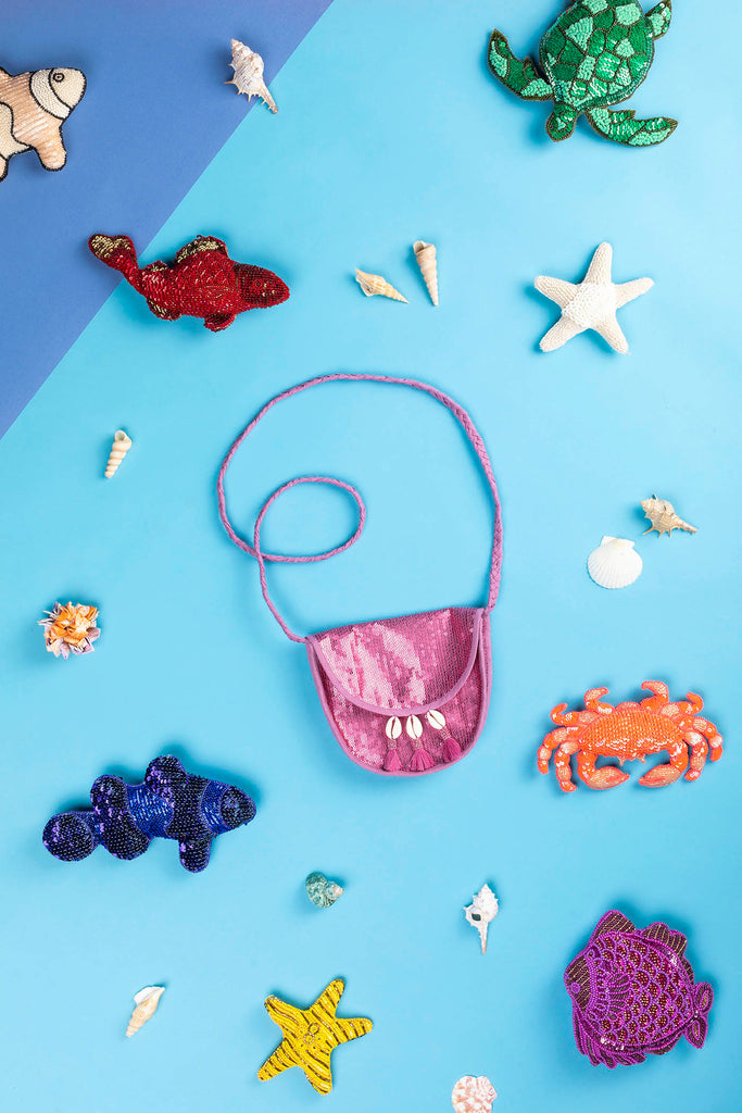 Veronica Crossbody Bag - Sea horse