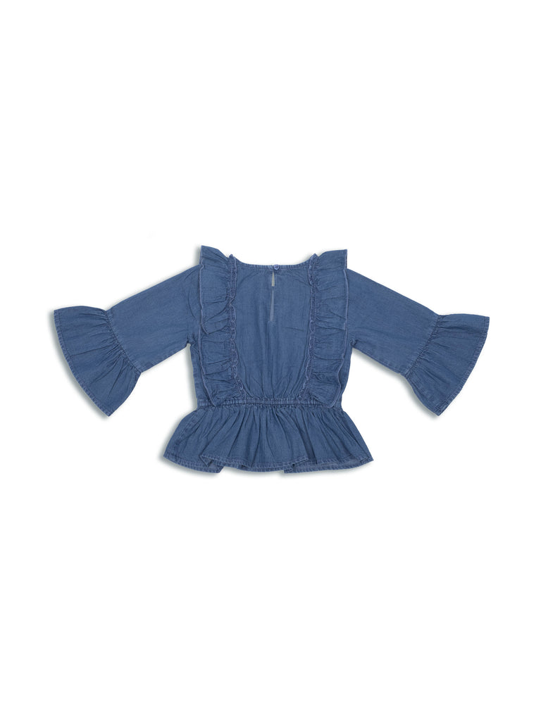 Alana Top - Medium Blue