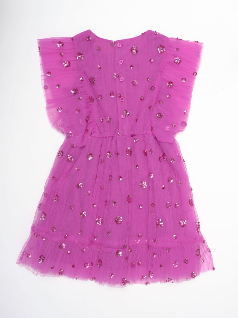 Monica Dress - Deep Orchid