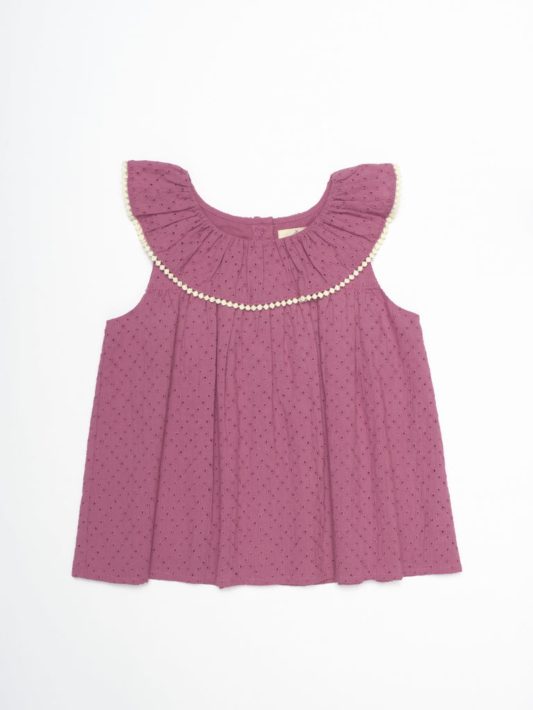 Sophy Top - Red Violet