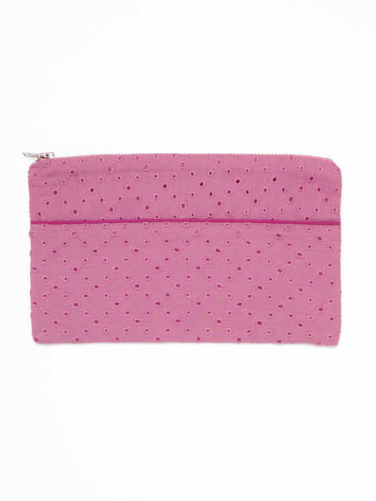 Veda Pencil Case - Red Violet