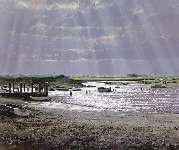 Burnham Overy Staithe, Looking West
