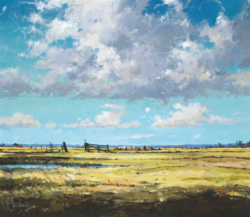 The Marshgate, Cley-Next-The-Sea - Paper 25 x 30cm