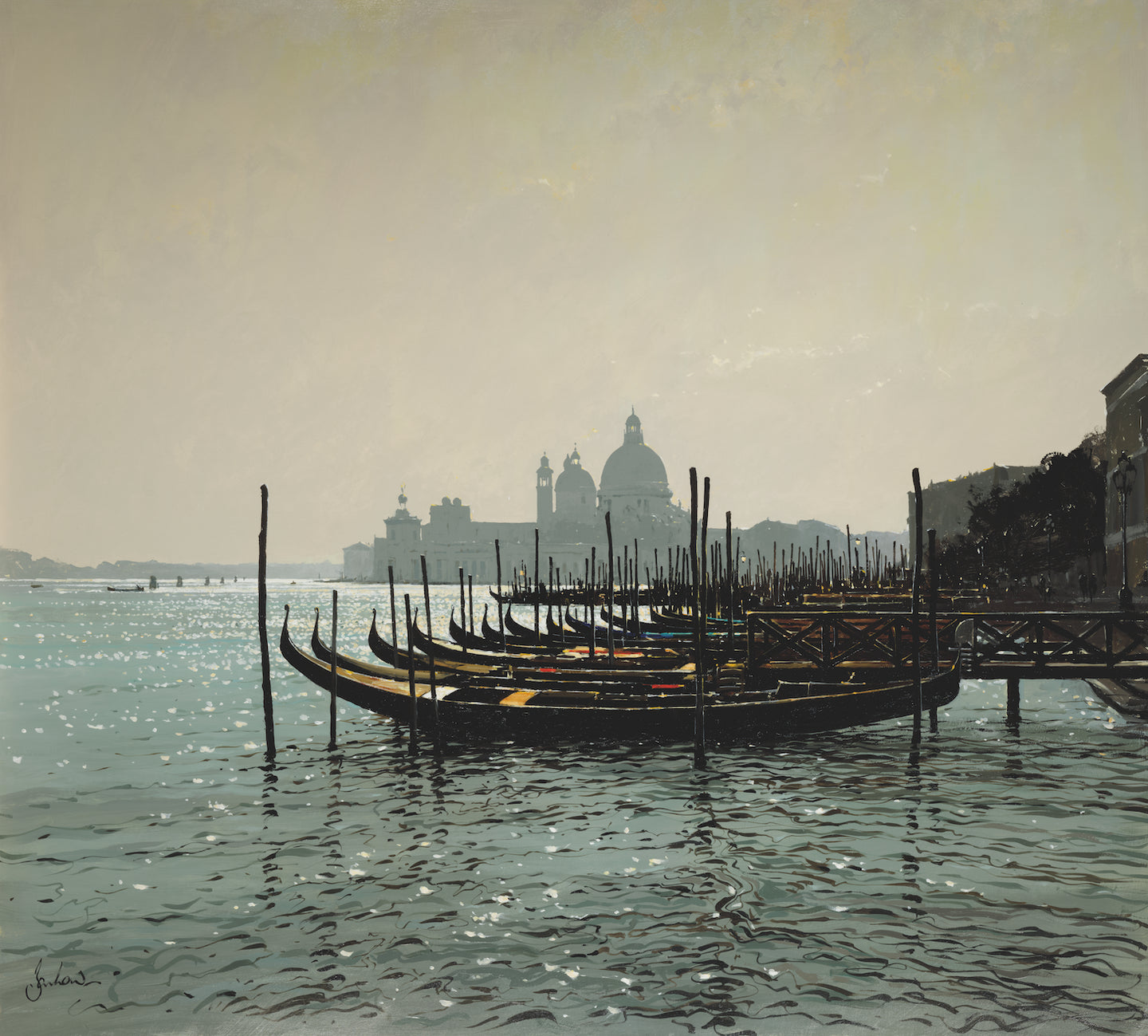 Towards The Salute, Venice