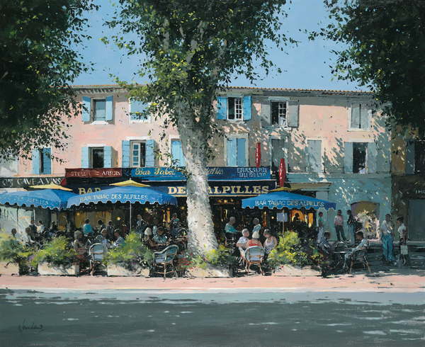 Bar Tabac, St. Remy - Paper 25 x 30cm