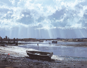 Burnham Overy Staithe, April