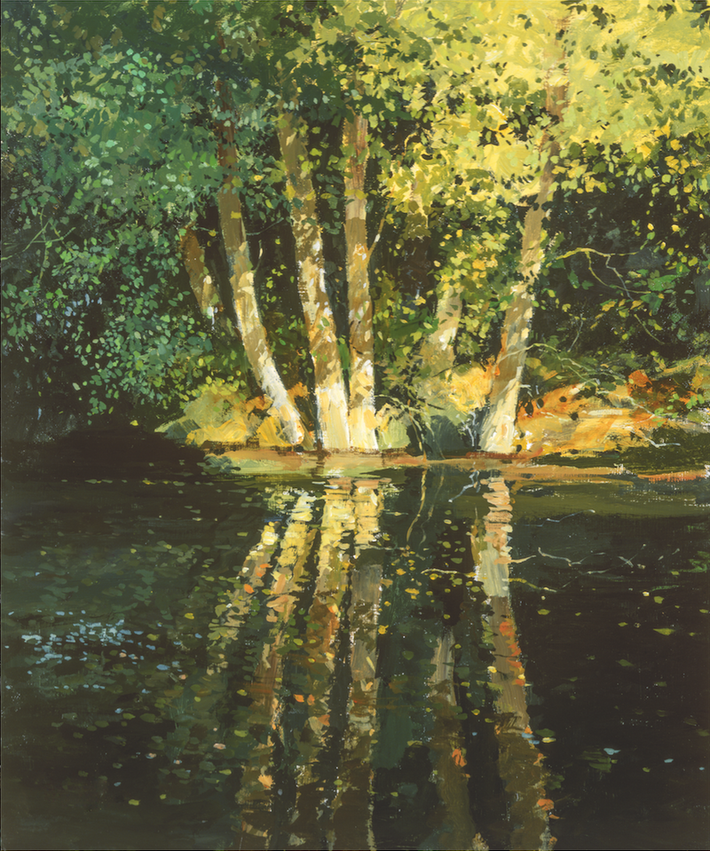 The Glaven At Letheringsett - Paper 25 x 30cm