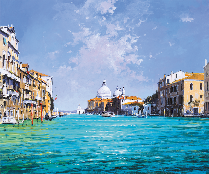 The Grand Canal, May - Paper 25 x 30cm