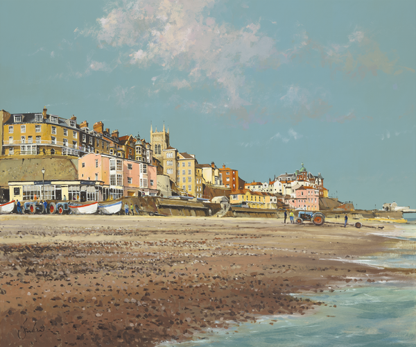 Cromer From The Beach - Paper 25 x 30cm