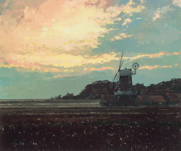 Cley Mill Sunrise