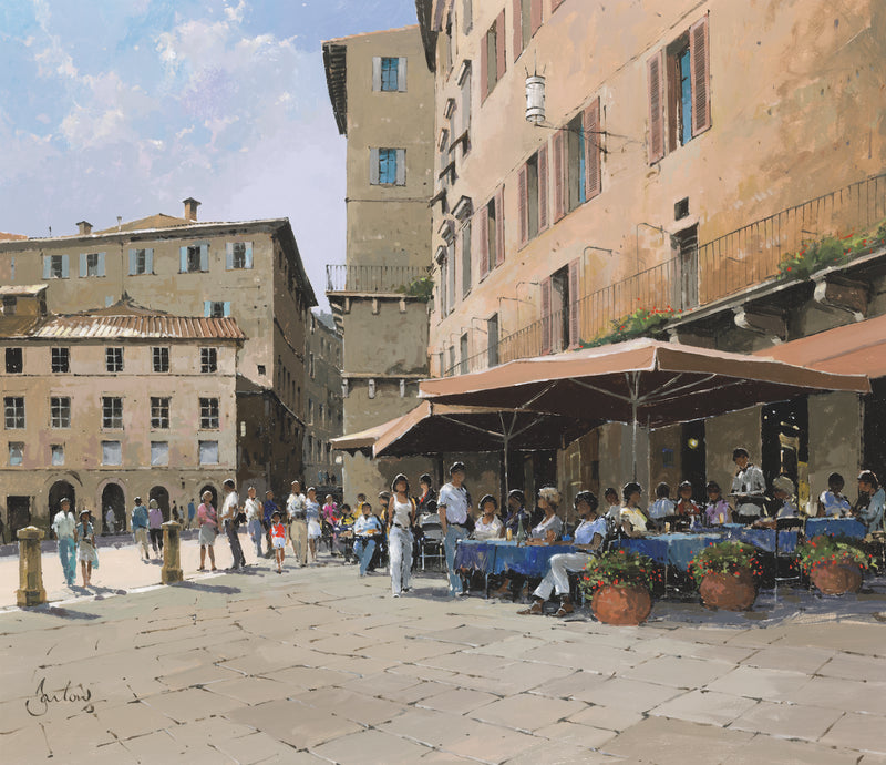 Lunch, Siena