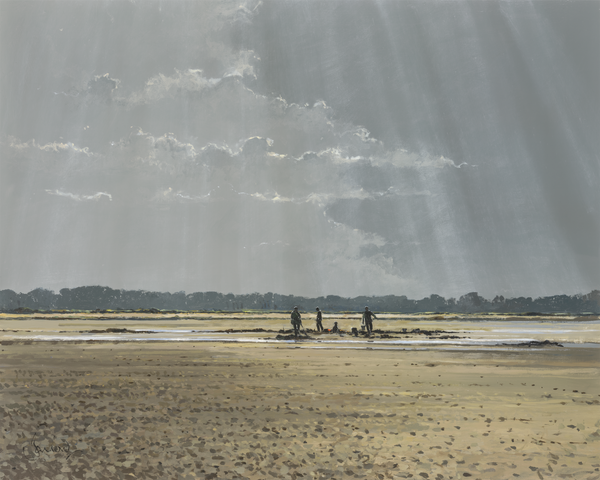 Wormdiggers At Morston - Paper 25 x 30cm