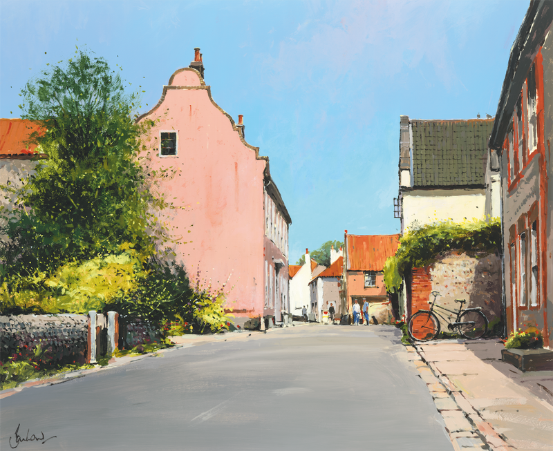 Cley-Next-The-Sea High Street - Paper 25 x 30cm