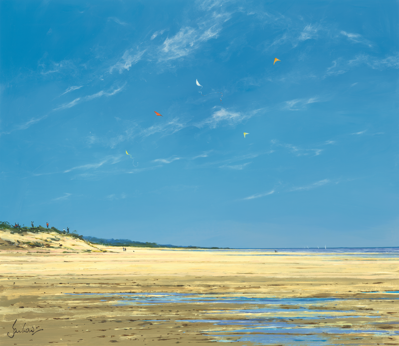 Blue Sky At Holkham - Paper 25 x 30cm