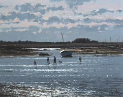 Back From The Walk, Burnham Overy Staithe