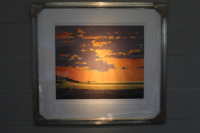 Sunset At Holkham (Artist's Proof) - Paper 50 x 60cm