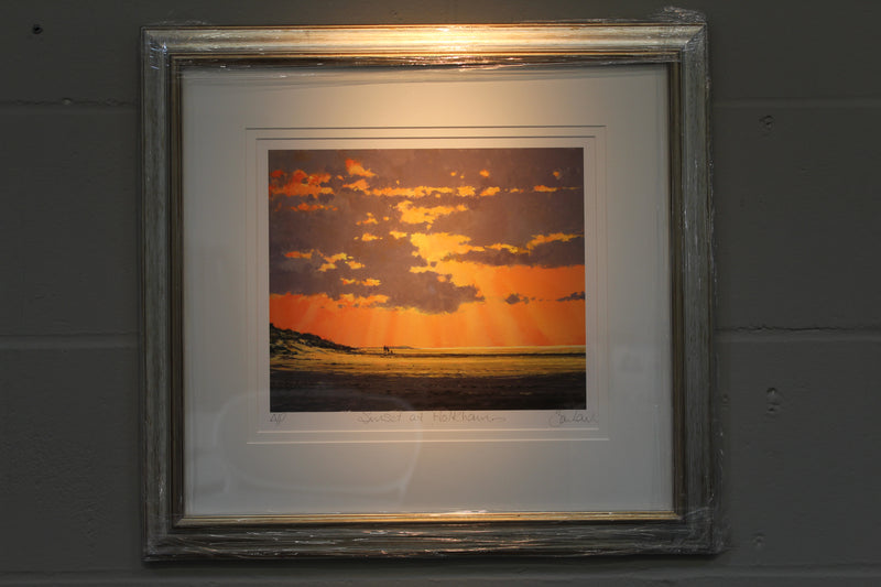 Sunset At Holkham - Paper 25 x 30cm