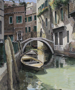 The Little Bridge, Venice