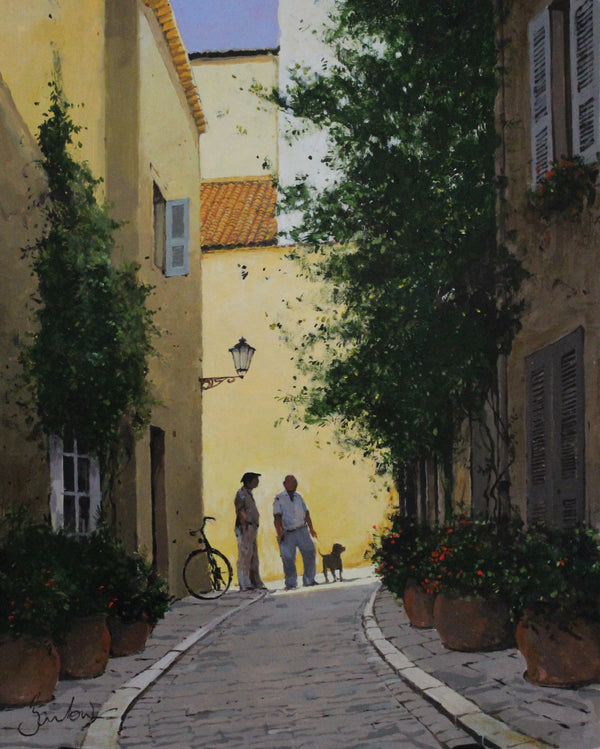Back Street With Bicycle, Saint Tropez