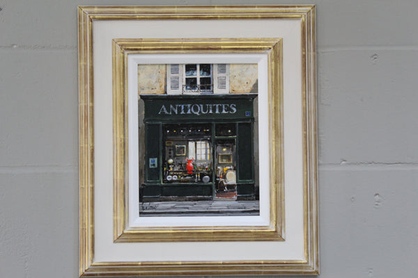 Antiquites 'The Red Vase'