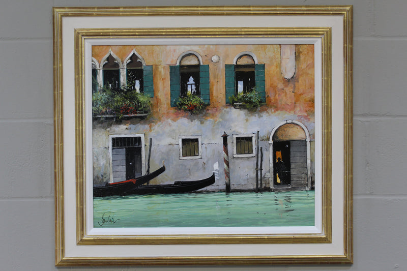 Facade With Gondola II