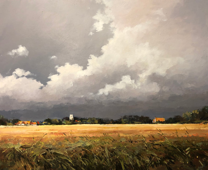 Storm Over Saxlingham, Norfolk