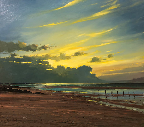 Sunset At Brancaster Beach