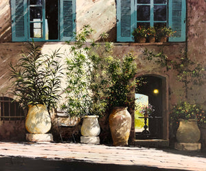 Pots & Open Door, Ramatuelle