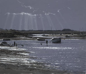 Burnham Overy Staithe, Back With The Dogs