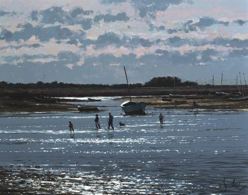 Burnham Overy Staithe - Before The Tide