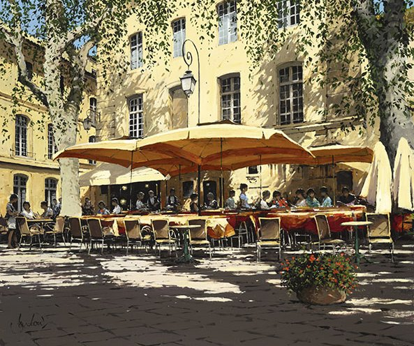 Morning Coffee, Aix en Provence