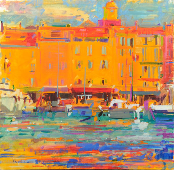 Harbour Reflection, St. Tropez