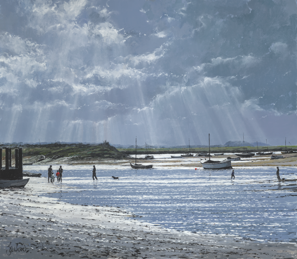 Burnham Overy Staithe, Blue Afternoon