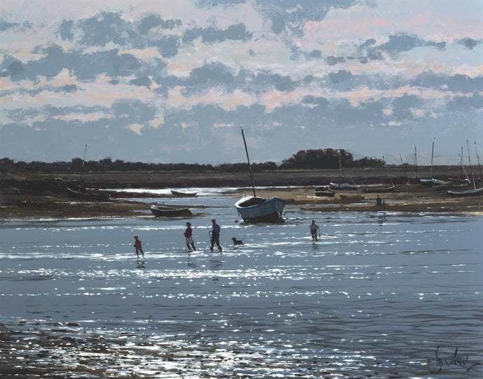 Before the Tide, Burnham Overy Staithe