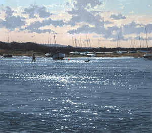 Burnham Overy Staithe, Evening Walk