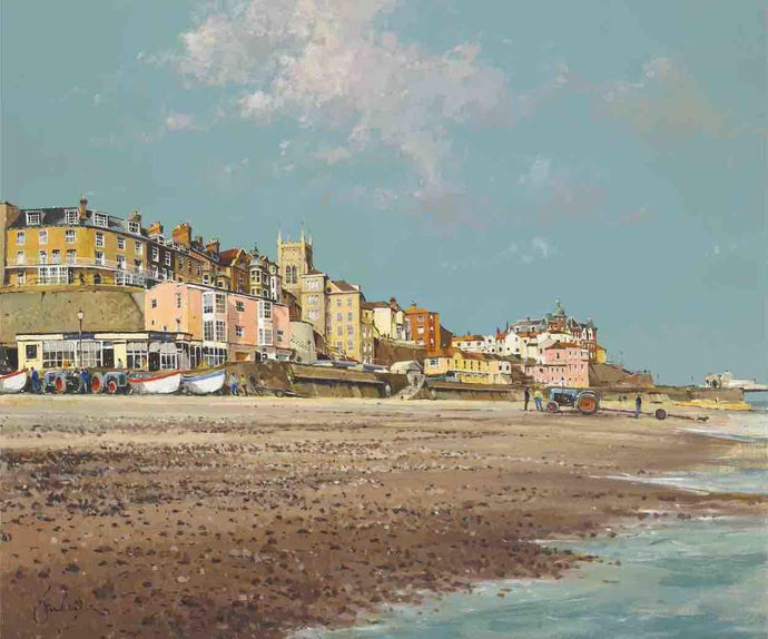 Cromer From The Beach