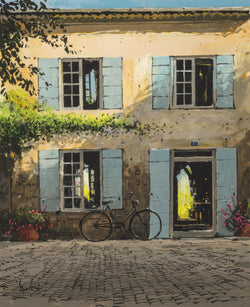 Facade with Bicycle, St. Remy de Provence