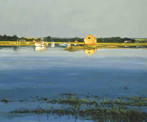 High Tide At Thornham Staithe