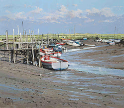 Morston Quay with Boats