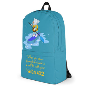 Accessories - Backpack - Joseph Paddleboard - Isaiah 43:2